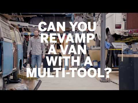 Can you revamp a van with a multi-tool?