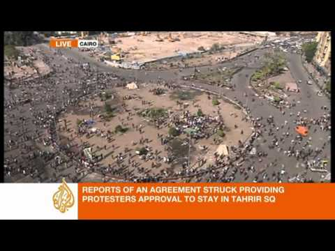 Al Jazeera's Mike Hanna on on-going Tahrir Square clashes