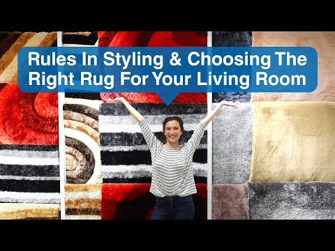 Rules In Styling And Choosing The Right Rug For Your Living Room | MF Home TV