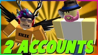 HOW TO PLAY ROBLOX ON 2 ACCOUNT BUT ON THE SAME COMPUTER! *2019 METHOD* EASY!