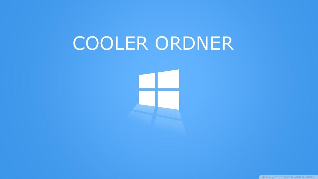 windows cooler ordner erstellen youtube