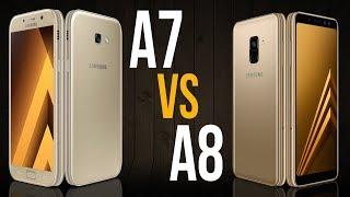 A7 2017 vs A8 2018 (Comparativo)