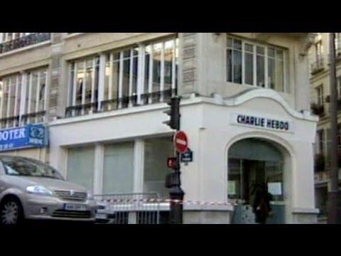 Fransa'da Hz Muhammed'in karikatürünü yayımlayan dergi binasına saldırı