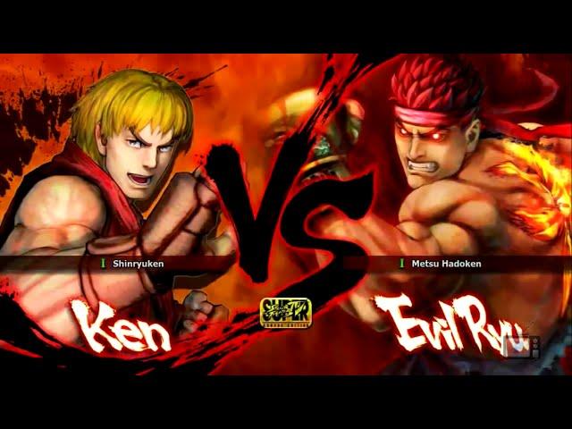 Luta na Live - Ken VS Evil Ryu