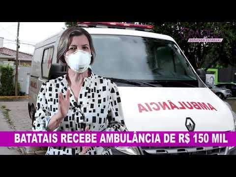 Delegada Graciela - Batatais recebe ambulância  de R$ 150 mil