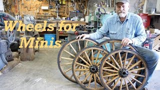 Miniature Horses | Wood Carriage Wheels | Wheelwright Restorations