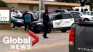 Authorities confirm 2 dead in Texas church shooting, including suspect