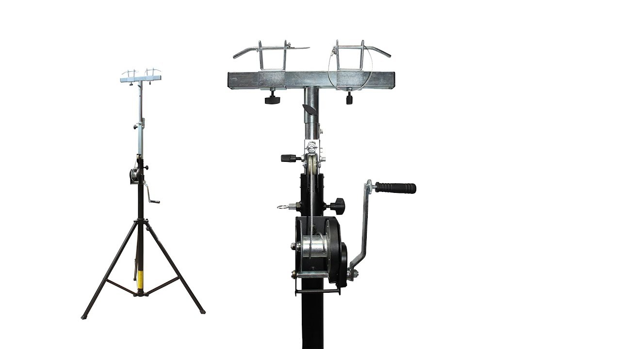 ProX XT-LS132 14ft Lighting/Crank Truss Stand  (Includes XT-ADAPTER-U) -  Holds 200lbs