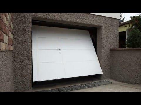 ouverture d 39 une porte basculante autoport e simon youtube