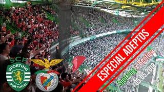 ESPECIAL ADEPTOS! Todo o apoio durante 4 horas no Sporting x Benfica!