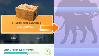 Opening legendary quest boxes for 2 trainer in Pokemon Go!