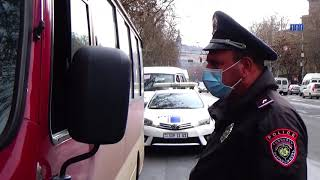 Ոստիկանությունը կոչ է անում չնստել սահմանված քանակից ավելի բեռնված ավտոբուս ու միկրոավտոբուս