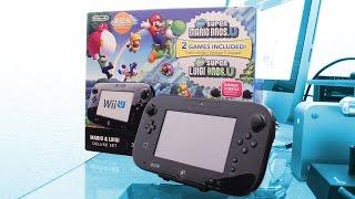 Unboxing: Nintendo Wii U Deluxe Set: Super Mario Bros U & Luigi U (En español)