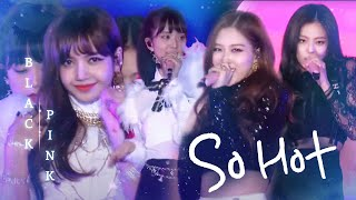 [2.27 MB] 블랙핑크, 뜨거운 에너지로 재해석한 원더걸스의 'So Hot' @2017 SBS 가요대전 1부 20171225