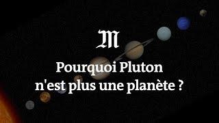 Pourquoi Pluton n'est plus une planète ?
