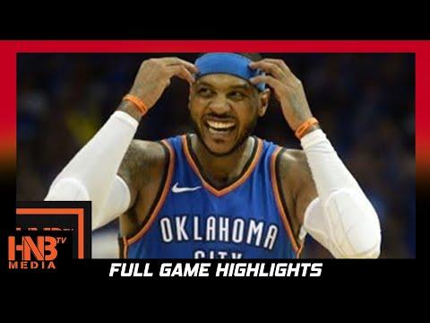 Oklahoma City Thunder vs Sacramento Kings 1st Half Highlights / Week 4 / 2017 NBA Season