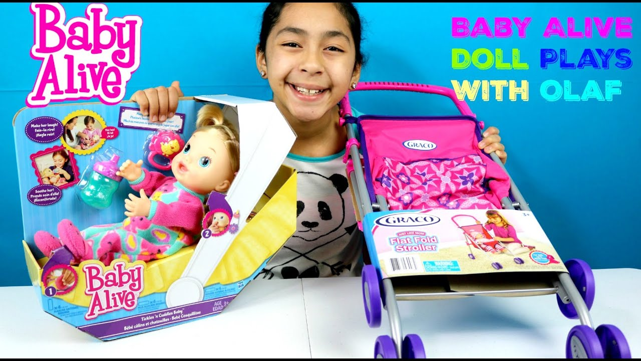 Baby Alive Tickles And Cuddles Plays With Doc Mcstuffins N