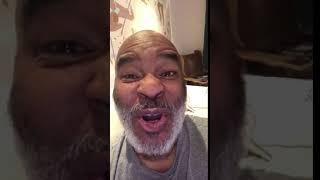 Gambar cover Comedian David Alan Grier wishing original FlyGirl Jossie Harris Thacker a Happy BDay