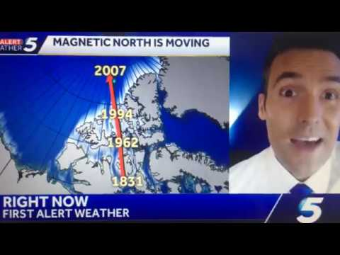 ALERT! Earth's Magnetic POLE REVERSAL MOVING FASTER 2019