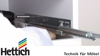Mounting of Quadro concealed full extension runners: Do-It-Yourself with Hettich screenshot 4