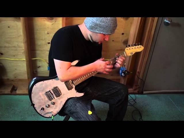 M-tone® Guitars - Codebreaker demo #1 by Danny Decko