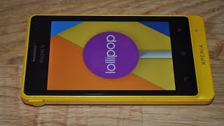 Sony XPERIA Go with Android 5.1.1 Lollipop CM12.1