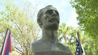 Cuban Hero José Martí Remembered On Miami Beach