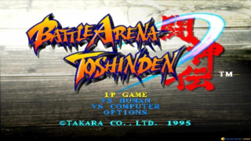 Battle Arena Toshinden Gameplay Pc Game 1995 Youtube