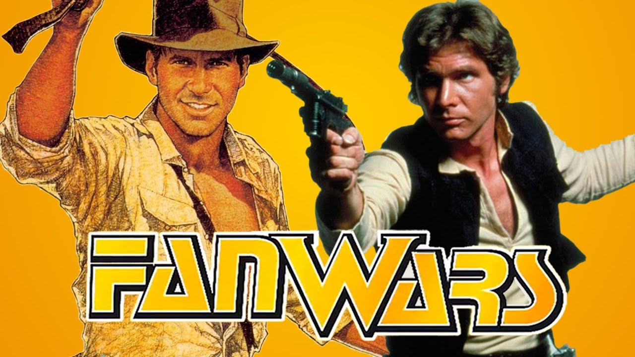 Harrison Ford Fight - Indiana Jones vs Han Solo - FanWars - Ep3