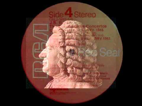 Bach / JF Paillard, Rampal, Andre, Jarry, 1958 - Brandenburg Concerto No. 3 in G major, BWV 1048