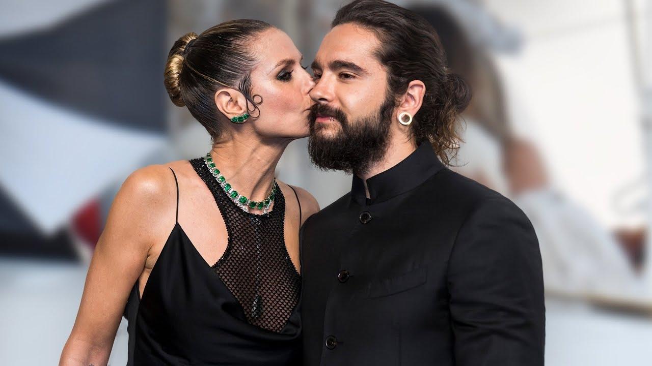 Heidi Klum & Tom Kaulitz - Ihr erster Kuss als Ehepaar