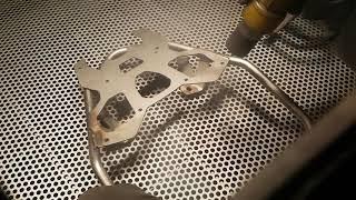 Śrutowanie stali kwasoodpornej