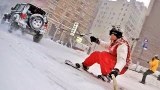 Repeat youtube video Making of / SNOWBOARDING WITH THE NYPD