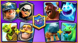 UNSTOPPABLE CARD COMBOS! (CLASH ROYALE)