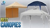 10'x20' Canopy Side Wall Kit Accessory Set Up - YouTube