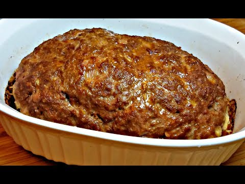 HOMEMADE MEATLOAF RECIPE | How To Make Meatloaf | Sunday Suppers