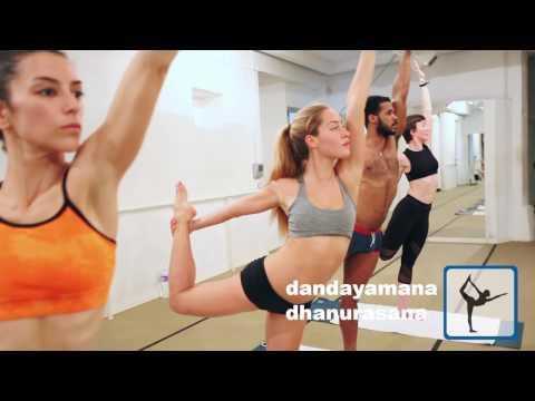 Bikram Yoga en 5 posturas