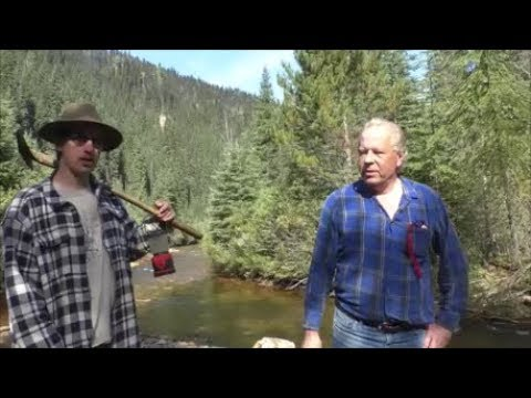 #166 Barkerville Gold Mines Part 1 Finding The Shaft!