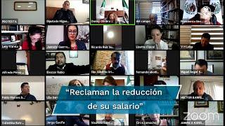 """Los legisladores acumularon 75 inasistencias  del 10 de marzo al 31 de agosto; """"hoy reclaman la reducción en su salario, pero no justificaron su ausencia"""", responde Isabela Rosales Herrera"""