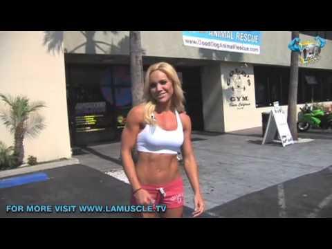 Hot Bikini Body Fast With Sexy Top Fitness Model Mindi Smith!!!
