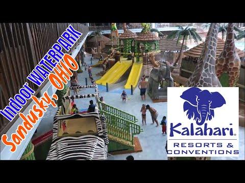 kalahari-resorts-&-conventions-sandusky,-ohio-  -indoor-water-park-tour-&-fun