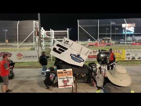 The wild child Jack Haudenschild wins at Attica Raceway park (5/17/19)
