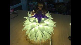 Кукла светильник из изолона 1 мм