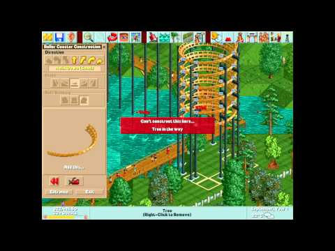 Rollercoaster Tycoon Deluxe is Still AWESOME |