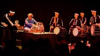 Taiko and Tabla Drum Collaboration