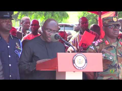 Tribute by the Government of Ghana to the late Major Maxwell Adam Mahama