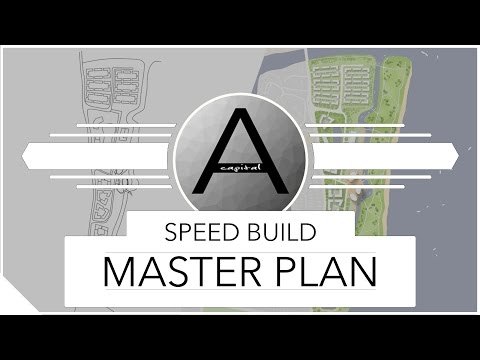 Architecture Post Production Masterplan (Speed Build)