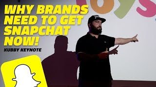 SNAPCHAT KEYNOTE: A missed e-commerce opportunity | Chris Kubby Keynote (2017)