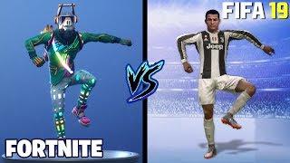 FORTNITE DANCES IN FIFA 19