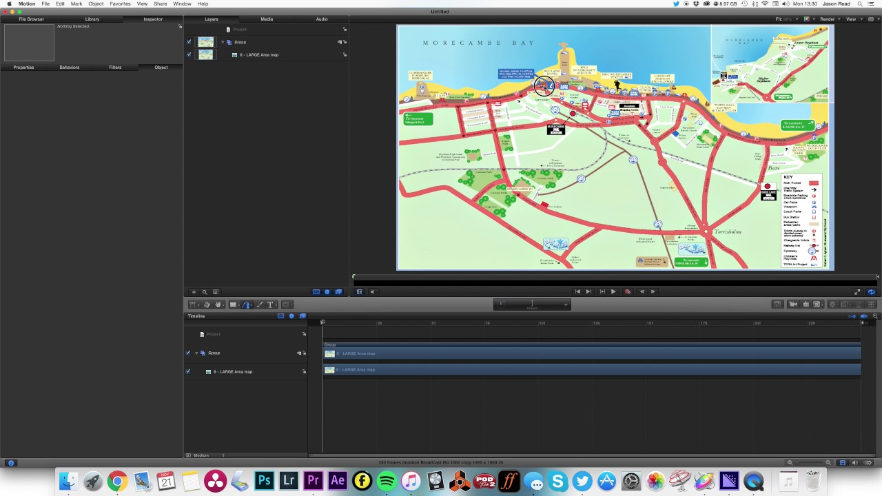 Animating a route map with apple motion youtube animating a route map with apple motion gumiabroncs Choice Image